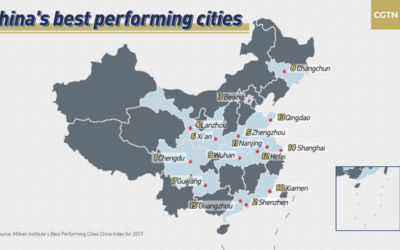 China's Best Performing Cities in 2019